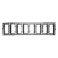 DTM-2023 1/24 License Plate Frames (8)_17591