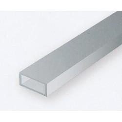 Polystyrol Rohr rechteckig 35cm 3.2 x 6.3 mm 3Stk_176