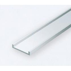 Polystyrol U-Profil 35cm B 1.5 mm H 0.94mm 4 Stk_179