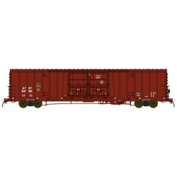 176-53001 HO 60' DD Box Car ATSF # 621308_17901