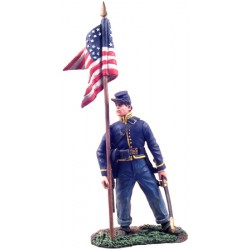 wbr-31071 1/30 Union Cavalry Guidon Bearer Dismoun_17964