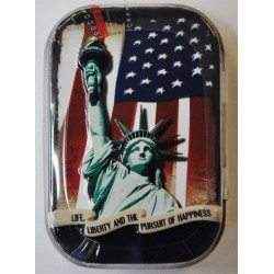 "Pillendose ""Life,Liberty and the pursuit.."" 81222_18002"
