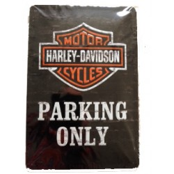 Wandblech Harley-Davidson Parking Only 20x30cm_18319