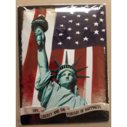 Wandblech Life, Liberty and the pursuit of Happine_18321