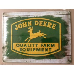 Wandblech John Deere Quality Farm Equipment_18325