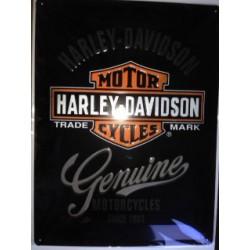 Wandblech Harley-Davidson Genuine_18327