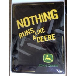 Wandblech Nothing Runs like a Deere_18334