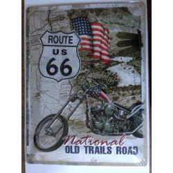 Wandblech Route 66 National old trails road_18335