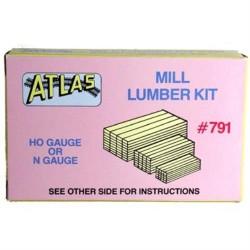 150-791 HO / N Mill Lumber kit (Kunststoff)_18508