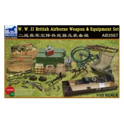 bro-3567 1/35 W.W.II British Airborne Weapon & E_18644
