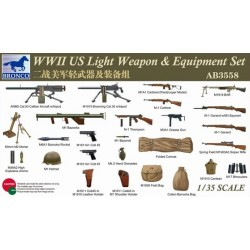 bro-3558 1/35 W.W.II. US Light Weapon & equipment_18649