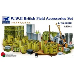 bro-3562 1/35 W.W.II British Field Accessories set_18656