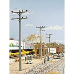 949-4120 HO Electric Utility Pole Set_18799