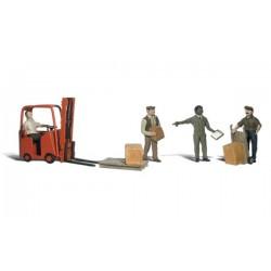 O Arbeiter mit Hubstapler - Workers with Forklift_1883