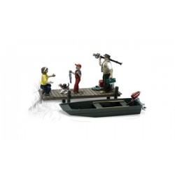 O Familie beim fischen mit Boot - Family Fishing_1895