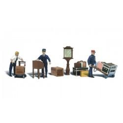 O Bahnhofs-Depot Arbeiter - Depot Workers & Access_1896