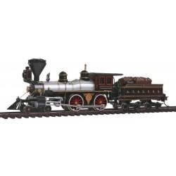 160-51102 HO American 4-4-0 Santa Fe # 91_19245