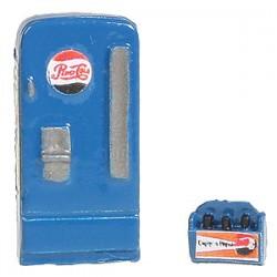 "361-744 ""HO"" Soda Machine Pepsi_19598"