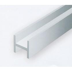 Polystyrol H-Profil 35 cm H 1.5 mm B 1.5 mm 4 Stk_196