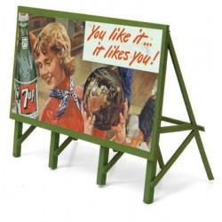 361-982 HO 1940s Nehi Custom Billboard - Assembled_19607