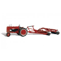 HO Tractor & Disc_1964