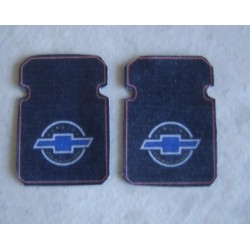 "PTD-200 1/25 Floor Mat Set ""Chevrolet""_20409"