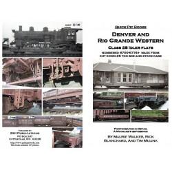 BHI Books D&RGW 6700 Series, class 28 flat car_20464
