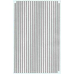 """460-PS-4-1/8 Parallel stripes silver 1/8"""" wide_21253"""
