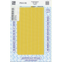 460-PS-6-1/8 Parallel stripes yellow 1/8_21269