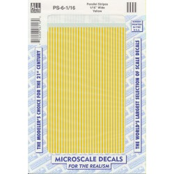 460-PS-6-1/16 Parallel Stripes yellow 1/16_21271