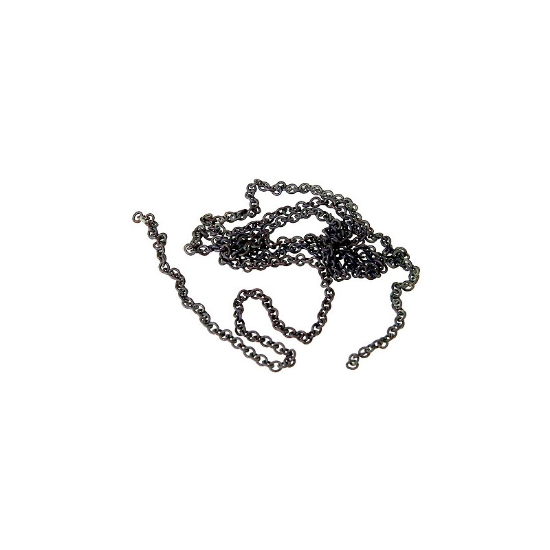 "116-29224 HO Silver Chain 12"" 15 links p. inch_21497"