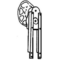 247-989 O Caboose Brake Stand_21575