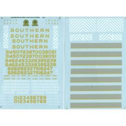 460-48-39 O Southern Diesels - 2 Sheet Set, Waters_21678