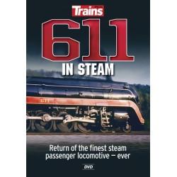 """400-15113 DVD Trains """"611 in Steam""""_21781"""