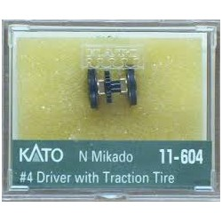 381-11-604 N Mikado # 4 Driver with Traction Tire_21798