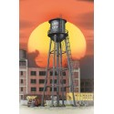 933-2825 HO City Water Tower (black)_21822