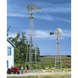 933-3198 HO Van Dyke Farm Windmill_22035