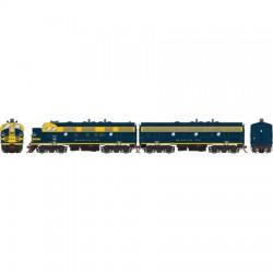 141-G22593 HO F7A/B SF/Freight # 263 # 272B o/S_22505