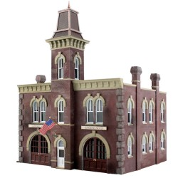 HO Firehouse - Built & Ready_2260