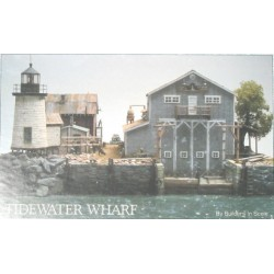 """169-IN-PS#9  Bauplan *Tidewater Wharf""""_22821"""