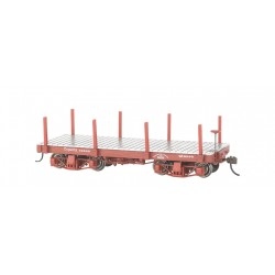 160-26511 On30 18' Freight Car Flat Car_22826