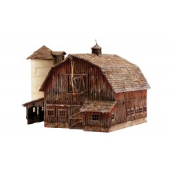 785-BR5038 HO Old Weathered Barn_2286