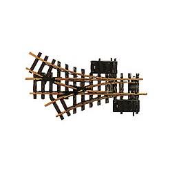 LGB-12360 Spur G Elektr.Dreiwegweiche R1 30°_23031