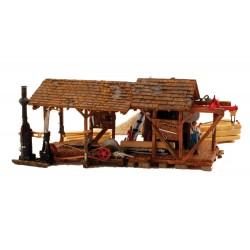 HO Buzz's Sawmill - Built & Ready_2317