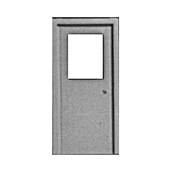 541-1103 HO Personal door with window (3)_24074