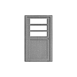 HO Türe mit Fenster 2-Sprossen pkg (3)_24080