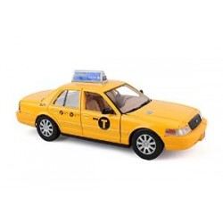 "RLT-73337 1/24 New York City Taxi (9"") (die cast)_24297"