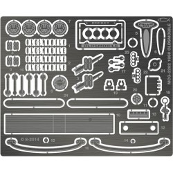 MCG-2292 1/25 & 1/24 1950 Oldsmobile 88 Detail Set_24614