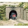 N Tunnelportal Stein (einspurig) Random Stone_2466