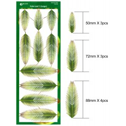 JWM-1025 1:48, 1:24, 1:35  Palm Leaf 1 (Large)_24690